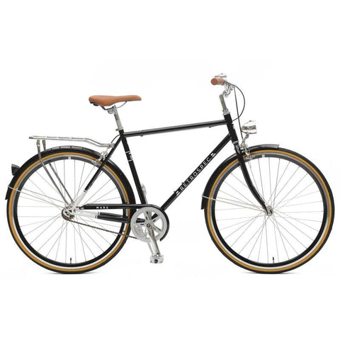 Retrospec Bicycles - Mars-1 Diamond Single-Speed City Bike Black / 50cm, Retrospec Bicycles - 1