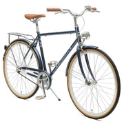 Retrospec Mars-1 Diamond Single-Speed City Bike | Midnight Blue