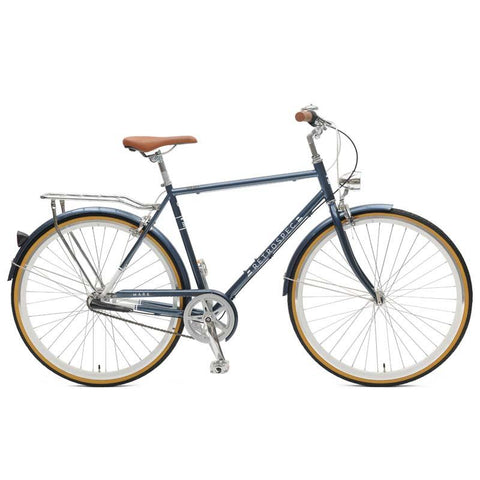 Midnight Blue Retrospec Mars-3 Diamond Three-Speed City Bike - Westridge Outdoors