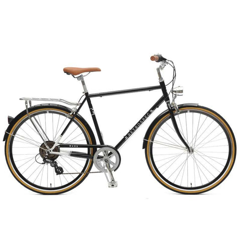 Retrospec Mars-7 Diamond Seven-Speed City Bike | Black