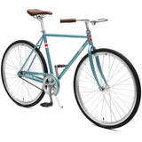 Critical Cycles Parker City Bike, 1-Speed w/ Coaster Brake | Ice Blue