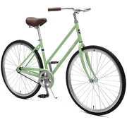 Critical Cycles Parker City Bike, 1-Speed Step-Thru w/ Coaster Brake | Wasabi