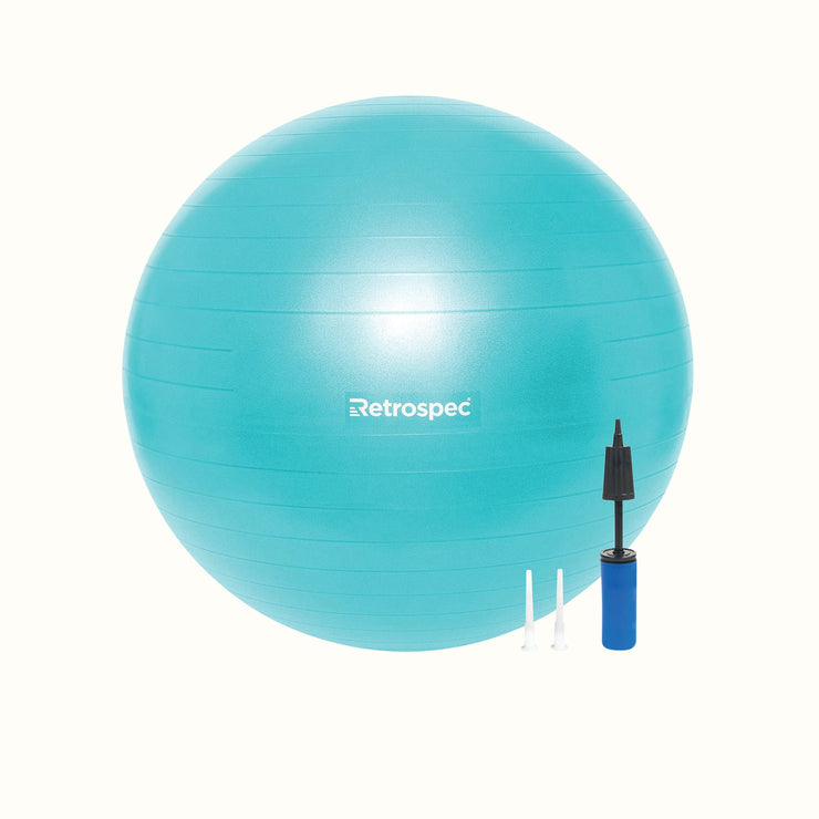 Luna Exercise Ball & Base | Teal