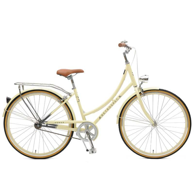 Retrospec Bicycles - Venus-1 Step-Thru Single-Speed City Bike Cream / 38cm, Retrospec Bicycles - 4