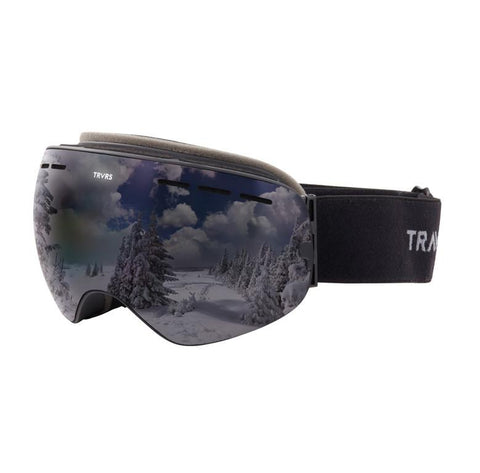 Traverse Virgata Goggles | Obsidian and Smoke