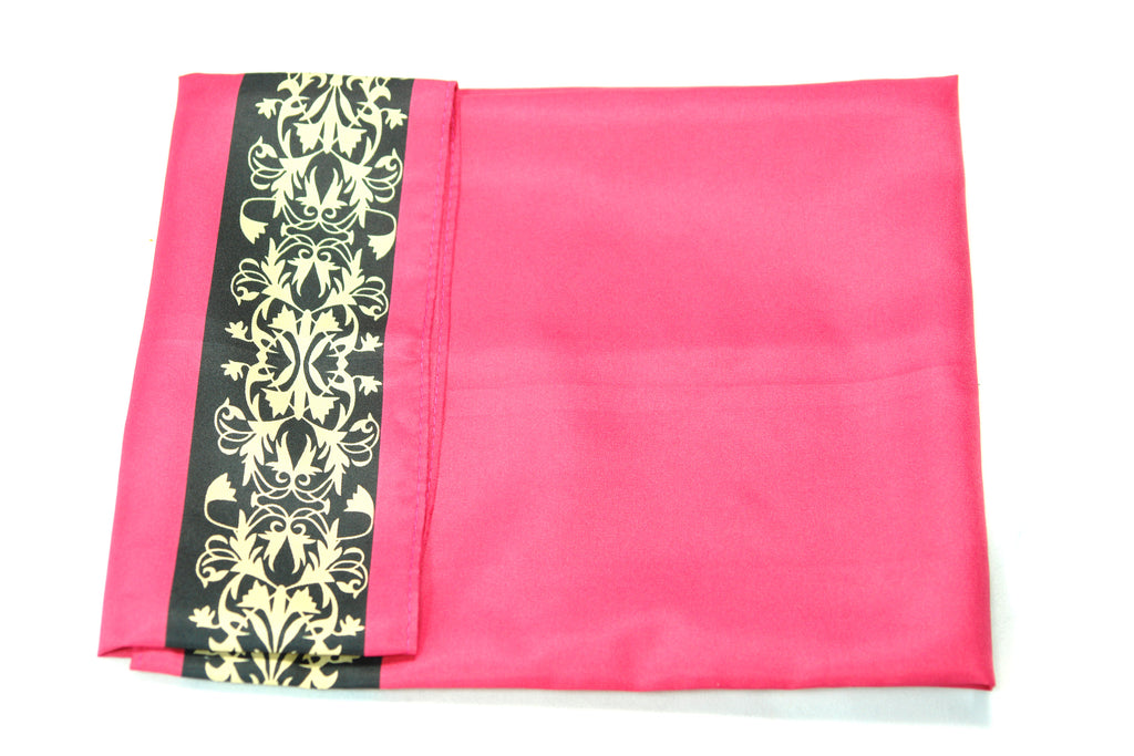 DAFE- Red Paisley Pocket Square - Cy's Topshelf