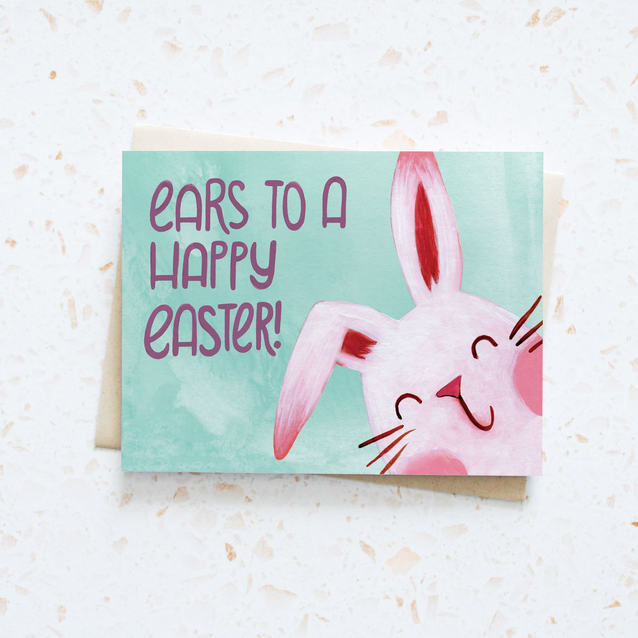 Ears to a Happy Easter Card