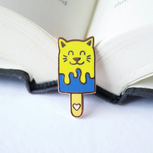 Cat Popsicle Enamel Pin