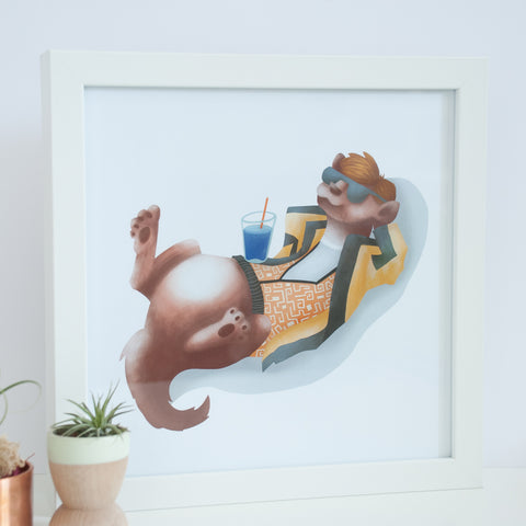 Ferret Digital Wall Art
