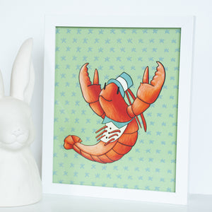 Lobster Sea Animal Digital Wall Art