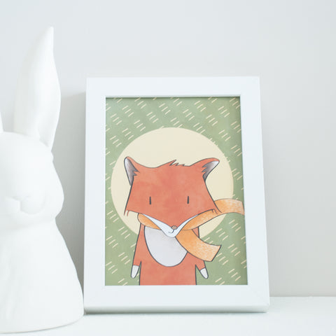 Red Swift Fox Print - Canadian Wildlife Series