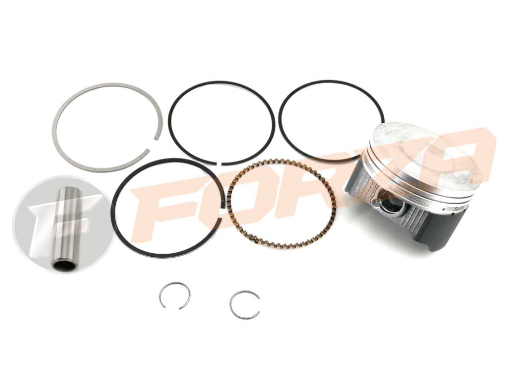 FORZA Engine Piston Rings Set (incl  Circlips & Pin) - LIFAN 140cc