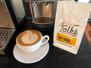 Espresso Review: Good Folks Coffee - Fast Track Espresso Blend