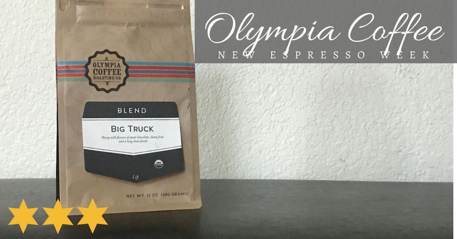New Espresso Week: Olympia Coffee Roasting Co's Big Truck Espresso