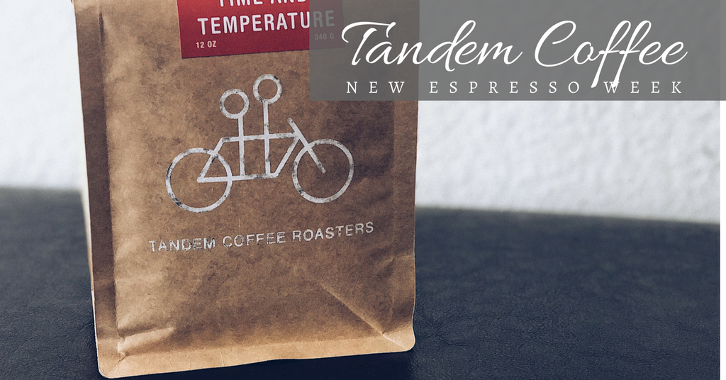 New Espresso Week: Tandem Coffee Roasters