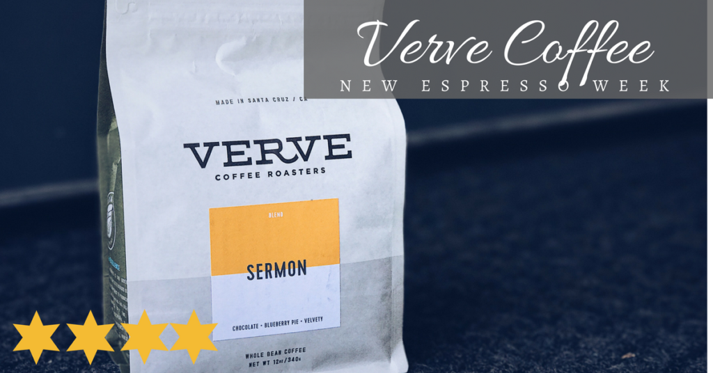 New Espresso Week: Verve Coffee Roasters