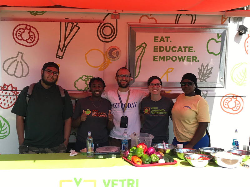 Engaging the Community in Order to Make Nutritional Food Choices with Vetri Community Partnership