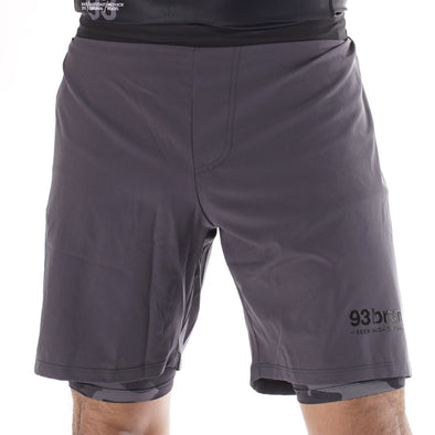 Two-Layer GOD V2 Shorts - Black Camo Edition