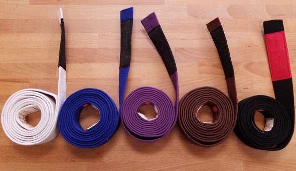 Premium BJJ Rank Belts