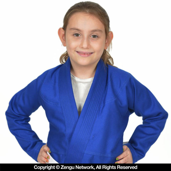 Standard Issue Children's BJJ Gi V1.2 - Blue