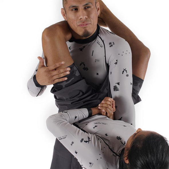 """Splatter"" Rash Guard"