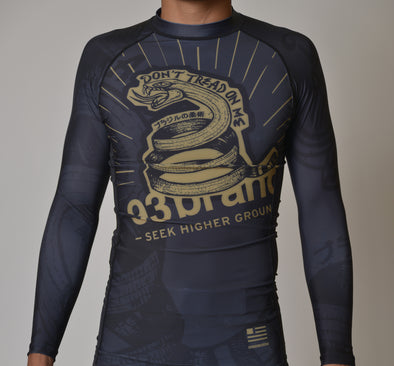 """Strong Snake"" Long-Sleeve Rash Guard"