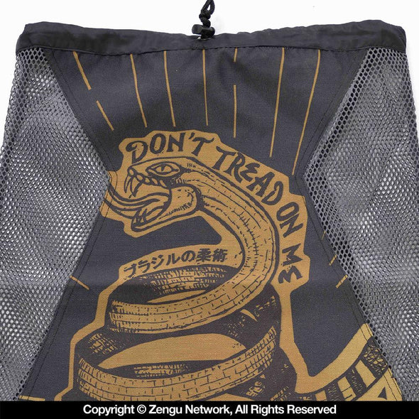 """Strong Snake"" Mesh-Integrated BJJ Bag"