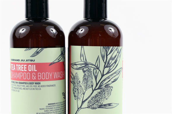 Natural Tea Tree Shampoo & Body Wash (2-PACK)