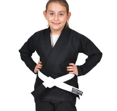 Standard Issue Children's BJJ Gi V1.2 - Black