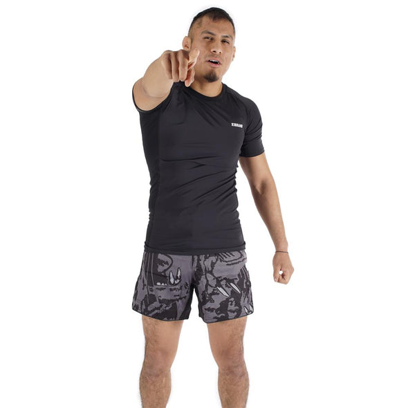 Standard Issue Rash Guards 2-PACK (Burgundy, Black)
