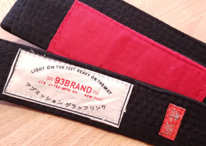 93 Brand Premium BJJ Rank Belts