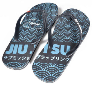 """Light on the Feet"" BJJ Flip Flops"