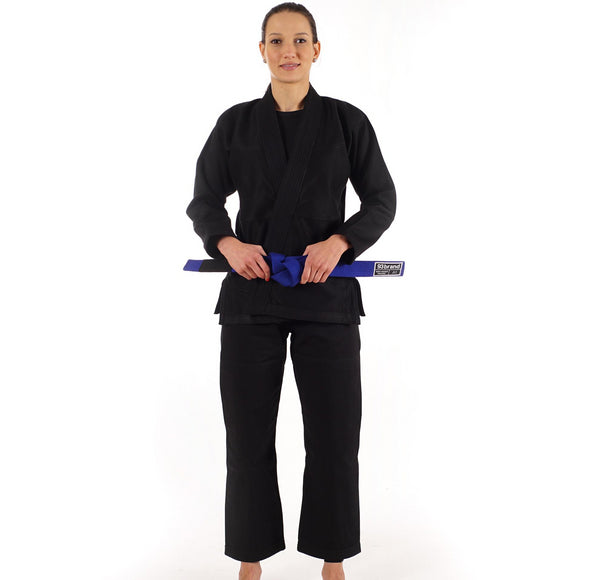 """Standard Issue"" Women's Jiu Jitsu Gi - Black"