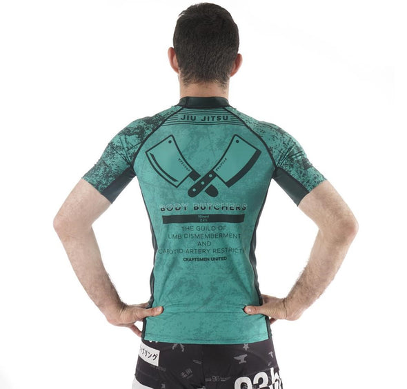 """Body Butchers"" Rash Guard"