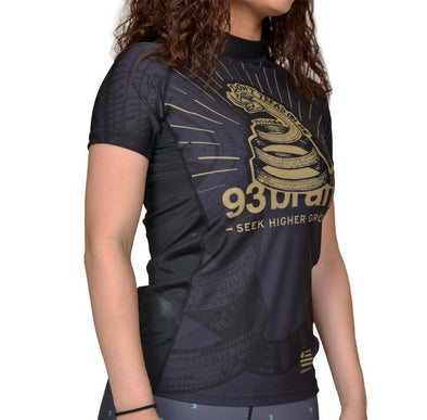 """Strong Snake"" Women's Rash Guard"