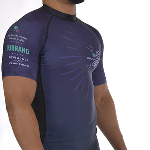 "93 Brand ""Berry"" Rash Guard"