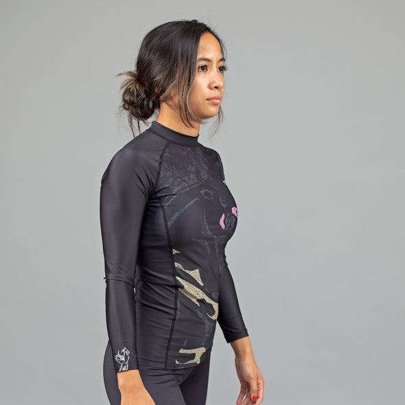 "93brand x Half Sumo ""Strike"" Women's Rash Guard"