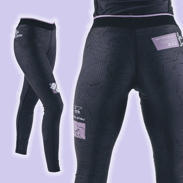 """Topography"" Women's Spats"