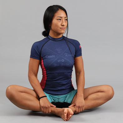 """Blast Double Club"" Women's Rash Guard"