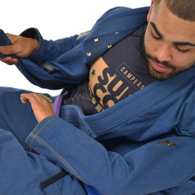 """Gold Label V1"" Heather Canvas Jiu Jitsu Gi"
