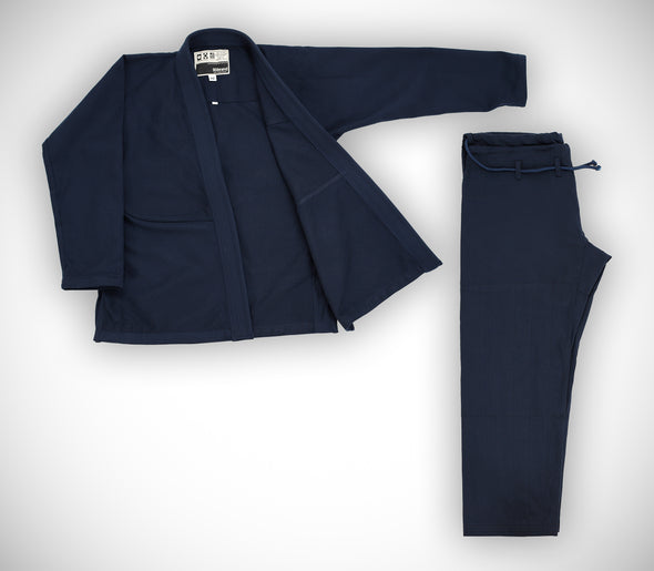 """Standard Issue"" Women's Jiu Jitsu Gi - Navy Blue Edition"