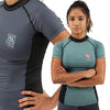 2019 Standard Issue Women's Rash Guards 2-PACK (Sage Green, Slate Grey)