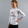 """Bad Grapplers Club"" Women's Rash Guard"