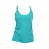 "Women's ""Monogram"" Tank Top - Teal"
