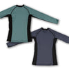 2019 Standard Issue Women's LS Rash Guards 2-PACK (Sage Green, Slate Grey)