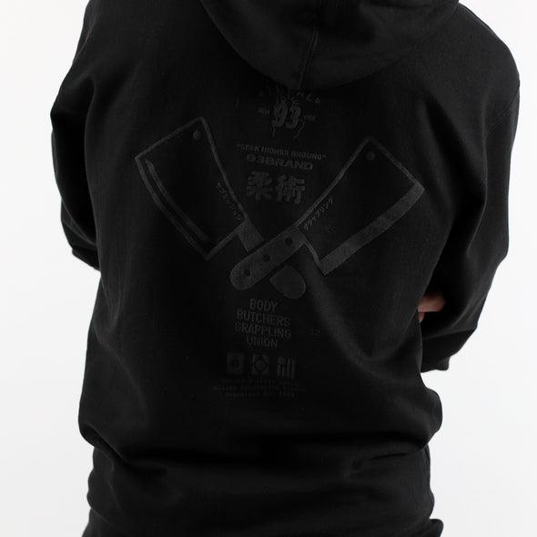 """Body Butchers"" Blackout Pullover Hoodie"
