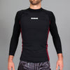 Standard Issue Rash Guards 2-PACK (Black/Blue, Black/Maroon)