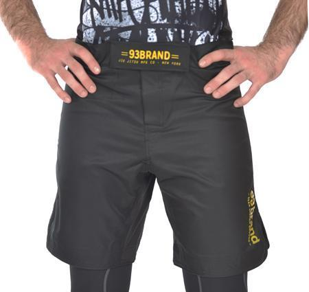"""Standard Issue"" Shorts (Black/Gold)"