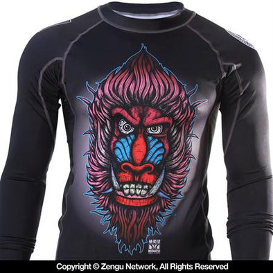 93 Brand x Meerkatsu Mandrill Rash Guard