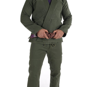 """Standard Issue"" Jiu Jitsu Gi - Olive Green Edition"